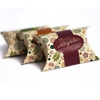 pillow case soap packaging box wholesale