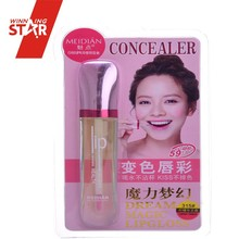 Winningstar waterproof velvet soft matte lip gloss magic change colour cosmetic lipstick with high quality