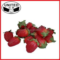 2015 NEW design lifelike Artificial Fake Food Fruit Strawberry
