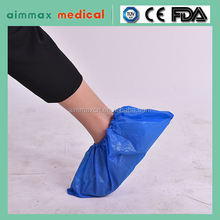 Disposable Waterproof Plastic PE CPE PP+ CPE Medical Shoe Cover For Work Place