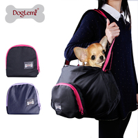 Free shipping!Hot selling Manufacture folding dog Portable Easy pet carrier bag