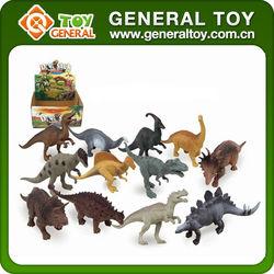 Wholesale mix different design plastic dinosaur toy