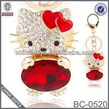 2012 best seller rhinestone man key chain