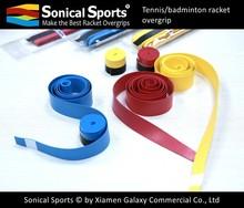 Top quality PU tennis racket overgrip, pu tape, pu grip