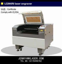 """LG900N laser cutting machine 24x36"""" with rotary for cylinder bugs engraving"""