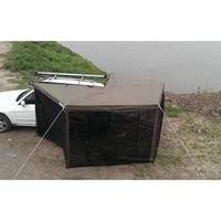 vehicle awnings in aluminum pop up camper tent