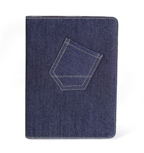 2015 of The best seller Denim Case for iPad Air 2,Tablet Covers