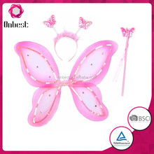 Children's Party LED Flashing Butterfly Wings Set