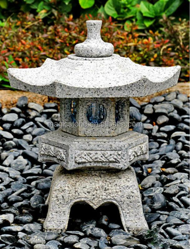 Japanse tuin decoratie halve parasol - Decoratie stenen tuin ...
