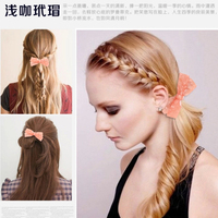 High class cellulose acetate colored bobby pins, hair bow bobby pins in bulk