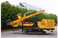 Hydraulic Engineering Crawler Drilling , Model No. YGL-150A Crawler Drilling Rig, water well drilling machine