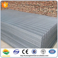anping galvanized welded wire mesh/welded wire mesh panel/double wire fence