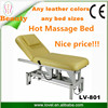 LOVEL price for powerlifting beauty salon furniture for sale electric 1 or 2 Motors Lift Full Body Massage Bed spa bed