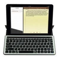 Metal aluminum universal bluetooth keyboard for samsung galaxy note 10.1