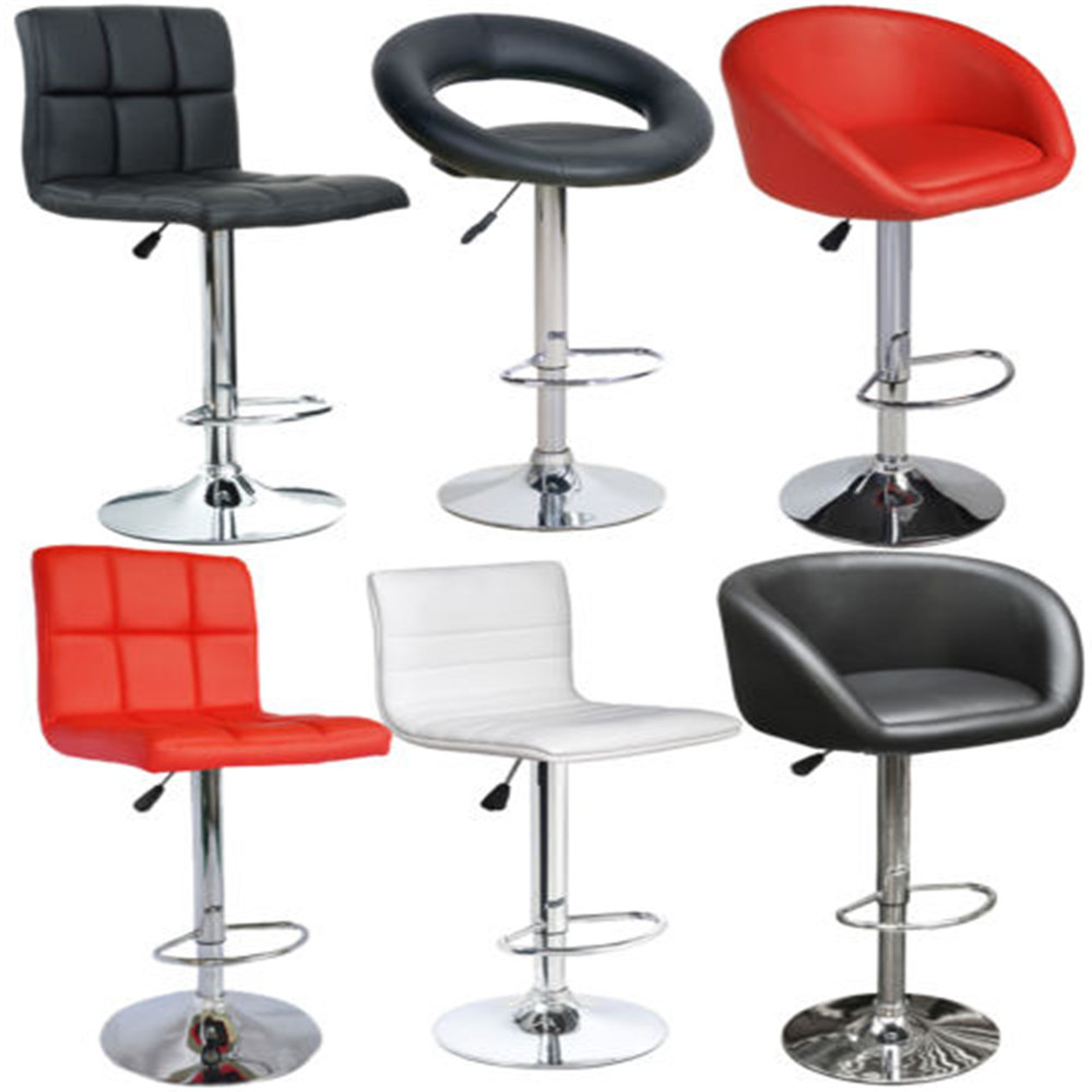 faux leather swivel kitchen counter bar stools buy