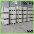 fabricante kingkoree brillo blanco de piedra compuesto de superficie sólida