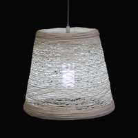 Interior decoration rattan designed led pendant lamp hanging ceiling light for dinning room