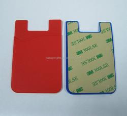 Smart Wallet Phone Card Headphone Cash Flexible Silicone Holder, silicone phone card wallet