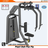 LAND FITNESS Exercise Arm Muscle-Lateral Swing Pearl Delt/Pec Fly-Indoor Commercial Training Machinery