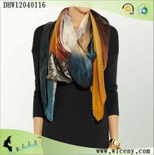 colore foulard de soie echarpe de mode 2013