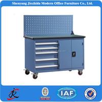 Workshop steel metal cabinets storage locker cabinet/tool trolley garage metal tool cabinet