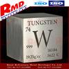 High-density polish 99.95% tungsten cube price