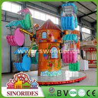 Cute design!!! SINO RIDES amusement children park games kids mini ferris wheel for sale