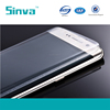 Sinva factory ultra clear full cover tempered glass screen protector for Samsung galaxy S6 edge clear