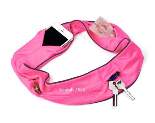 Новый 3шт s/m/l размеров расширяемая талии пакеты путешествия туризм работает деньги кошелек ремень сумки dropshipping спорта на открытом воздухе