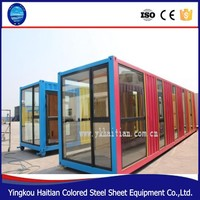 Container house and steel prebuilt container home for sale, living container house