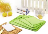 2015 new design plastic antibacterial cutting board/chopping board/cutting block