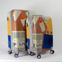 2015 New Design custom Luggage Set with Label Printing