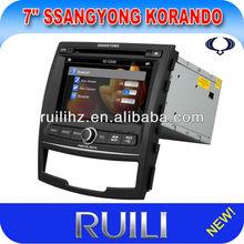 Car PC wINDOWS XP for SsanngYongKorando Can-bus GPS MonitorWince 6.0 RDS BT Ipod