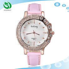 2015 Fashion New Rose Gold Diamond Quartz Women Watches Gift