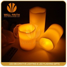 Made in China home decor remote control led christmas candles,wedding decorations wholesale chinaremote control led candle light