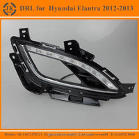 New Arrival Car Special LED Fog Light for Hyundai Elantra LED Daytime Running Light for Hyundai Elantra 2012-2013