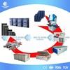 PV 3MW 5MW 10MW Turnkey Plant Photovoltaic Solar Panel Manufacturing Equipment For Sale