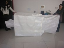 pp ton bags, pp woven bags, pp jumbo bags with top option and discharge option safety factor 3:1-6:1