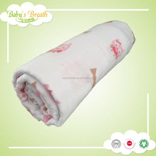 MS69 new design 100% cotton muslin swaddle blanket