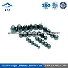 China de alta calidad botón de carburo de tungsteno
