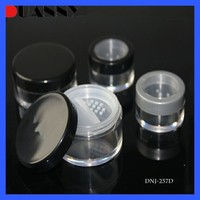 COSMETIC CHEAP BOTTLE AND JARS ,LOOSE POWDER BOTTLE