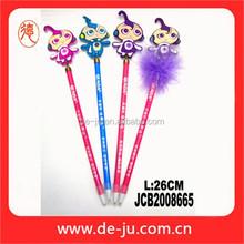 Provide Personalized Colorful Doll Shape Pen Promotion Magic Pen