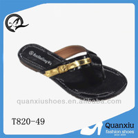 2014 wholesale piercing for slippers shoes factory women cheap ladies sleeper