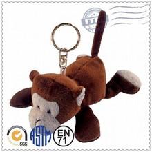 New product cute soft toy keychain monkey