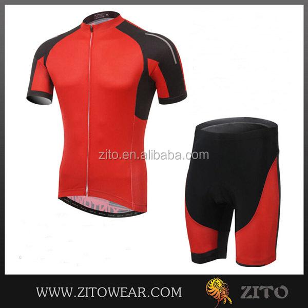 Oem / odm mamufacture nuevo diseño profesional equipo de ciclismo ropa con cojín 3D rellenó