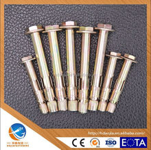 AOJIA ANCHOR china factory good quality Hex bolts type Sleeve Anchor M8*10*60
