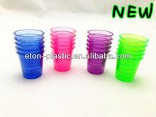 Plastic jello shot