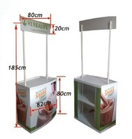 fast and easy folding portable Promotional desk for sale