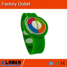 Hot sale! rfid silicone wristbands in bracelets