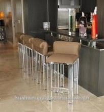 Comfortable and Nice Look Acrylic Bar Stool High Chair